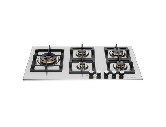 Cooktop a Gás Elanto Professionale Inox 5Q| 5kW| 90cm220V