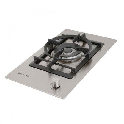 Cooktop Dominó Elettromec Quadratto 1Q Tripla-Chama Bivolt