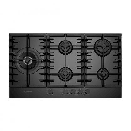 Cooktop Elettromec Vetro Vidro Preto 90cm Bivolt