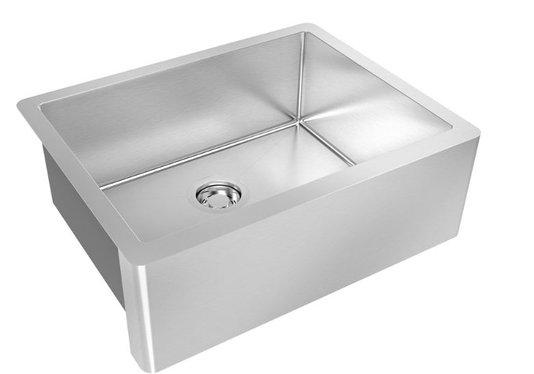 Cuba Farm Sink DeBacco Quadratino em Inox 60x47x21cm
