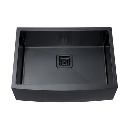 Cuba Farm Sink Rubinettos Inox Black Matte 65x47x20cm