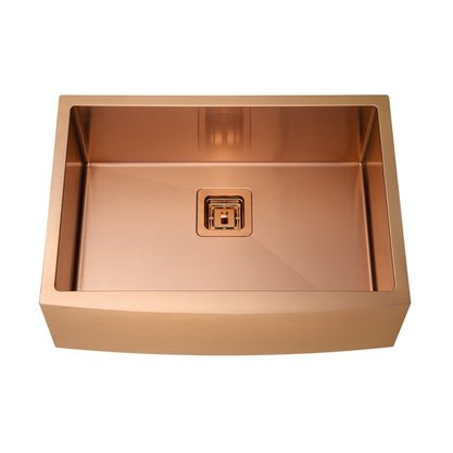 Cuba Farm Sink Rubinettos Inox Rose Gold 65x47x20cm