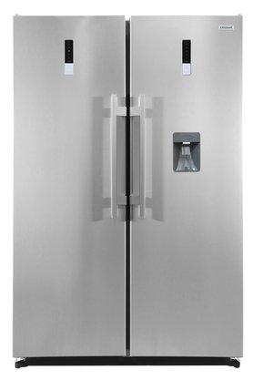 Duo Refrigerador + Freezer Crissair TWINSET Inox 610 Litros